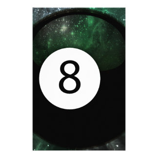Diopside Magic 8 Ball Stationery