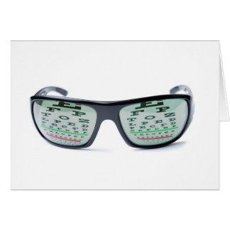 Dioptric sunglasses card