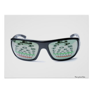 Dioptric sunglasses poster