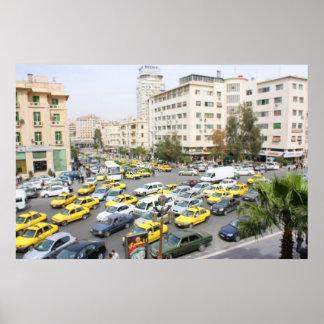 Diorama Miniature City - Damascus Syria Poster