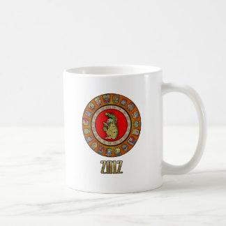 dios 2012 de la muerte del Maya-calendario Taza De Café