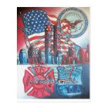 Dios 911 bendice América Postal