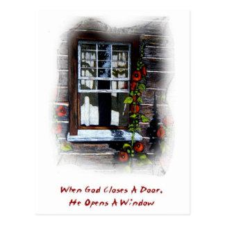 Dios abre una ventana: Pueblo superior de Canadá,  Postales