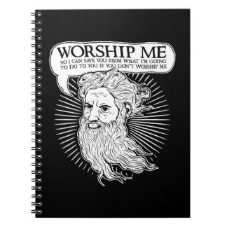 Dios: Adóreme así que puedo ahorrarle de mí Libro De Apuntes Con Espiral