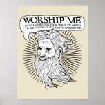 Dios: Adóreme así que puedo ahorrarle de mí Poster