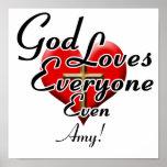 ¡Dios ama al Amy! Poster