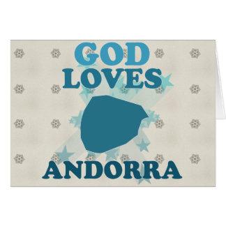 Dios ama Andorra Felicitaciones