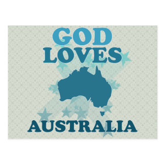 Dios ama Australia Postal