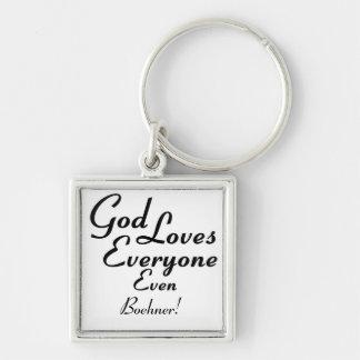¡Dios ama Boehner! Llavero