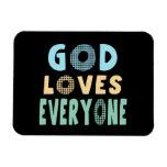 Dios ama cada uno imanes