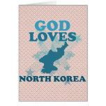 Dios ama Corea del Norte Felicitaciones