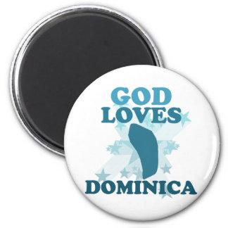 Dios ama Dominica Iman De Frigorífico