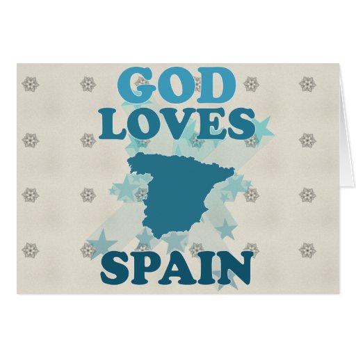 Dios ama España Felicitaciones