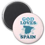 Dios ama España Iman De Frigorífico