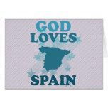 Dios ama España Tarjetón