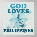 Dios ama Filipinas Póster