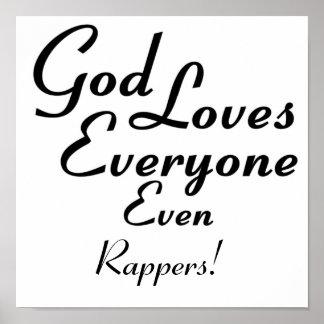 ¡Dios ama golpeadores! Póster