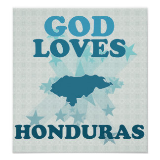 Dios ama Honduras Impresiones