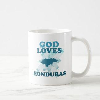 Dios ama Honduras Tazas