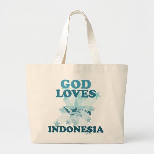 Dios ama Indonesia Bolsa