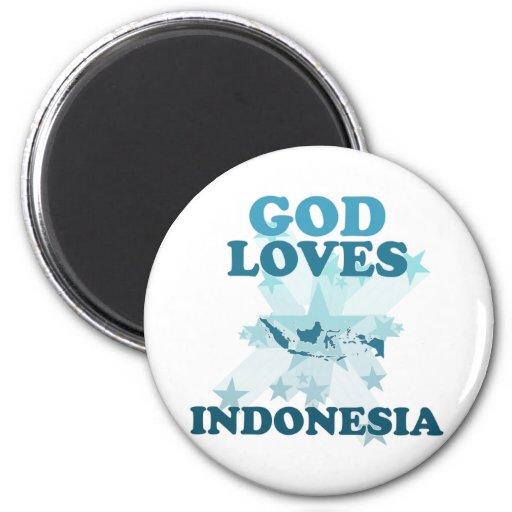 Dios ama Indonesia Imán