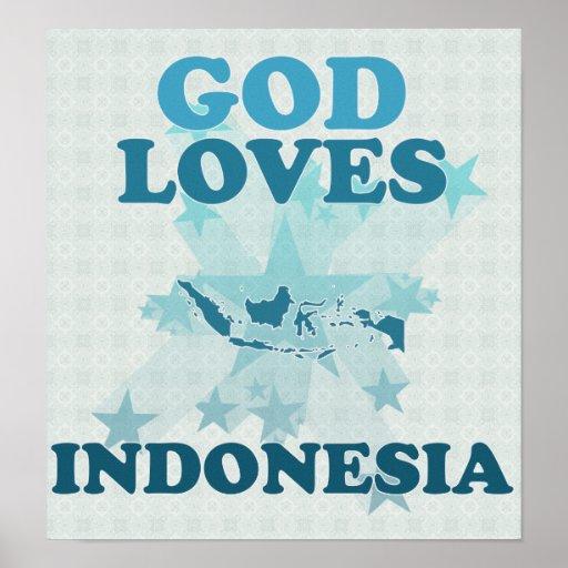 Dios ama Indonesia Impresiones