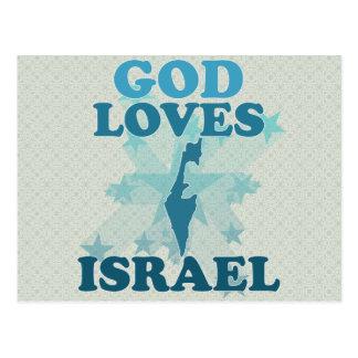 Dios ama Israel Postal