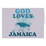Dios ama Jamaica Tarjetón