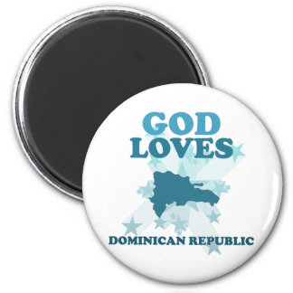 Dios ama la República Dominicana Iman De Nevera