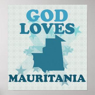 Dios ama Mauritania Poster