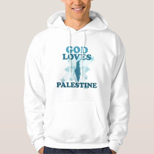 Dios ama Palestina Sudadera Pullover
