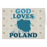 Dios ama Polonia Tarjetón
