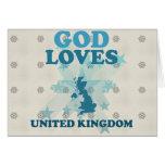 Dios ama Reino Unido Felicitaciones