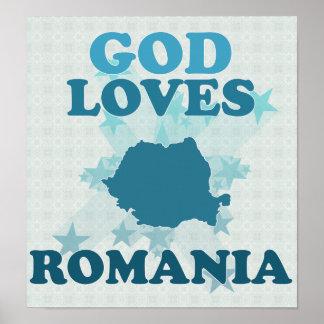 Dios ama Rumania Poster