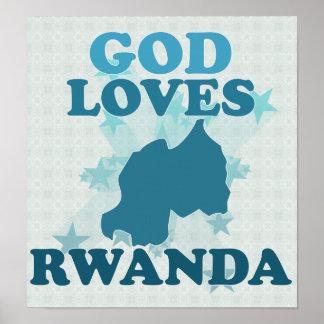 Dios ama Rwanda Impresiones