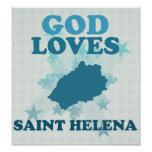 Dios ama Santa Helena Poster