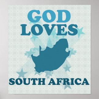 Dios ama Suráfrica Poster