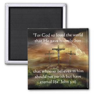 Dios amó tan el imán del mundo