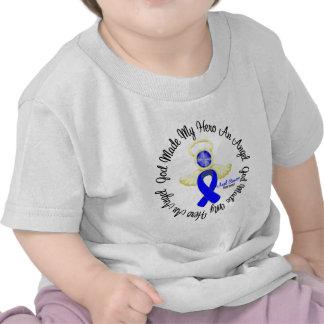 Dios anal del cáncer hizo mi héroe un ángel camisetas