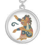 Dios azteca del creador - 13 - Ometeotl - collar