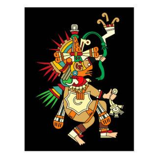 Dios azteca Quetzalcoatl Postales
