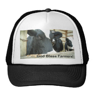 Dios bendice a los granjeros - gorra
