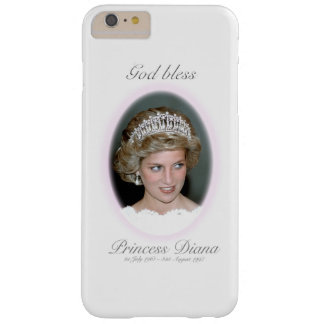 Dios bendice a princesa Diana Funda Barely There iPhone 6 Plus