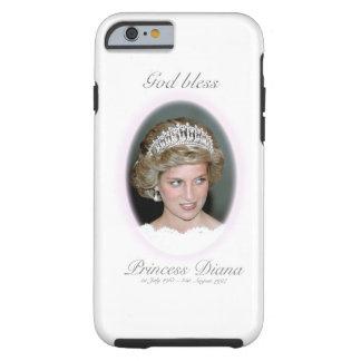 Dios bendice a princesa Diana Funda Resistente iPhone 6