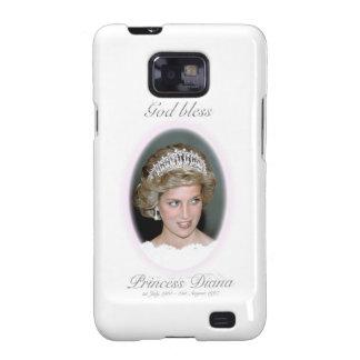 Dios bendice a princesa Diana Galaxy S2 Funda