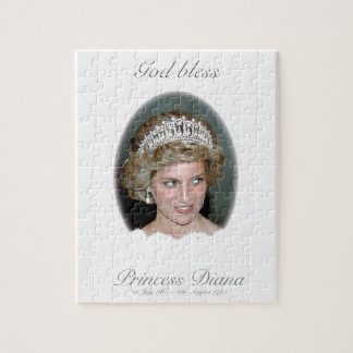 Dios bendice a princesa Diana Rompecabezas Con Fotos