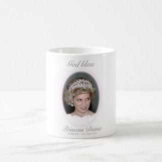 Dios bendice a princesa Diana Taza De Café
