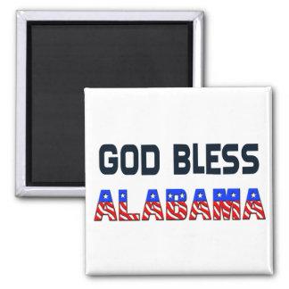 Dios bendice Alabama Imán Cuadrado