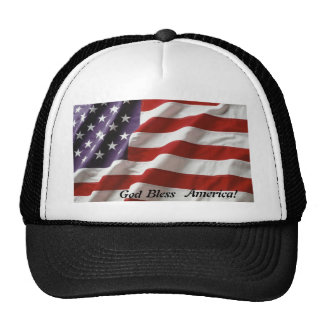 ¡Dios bendice América! gorra