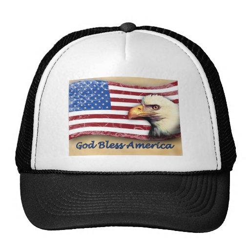 Dios bendice América Gorro